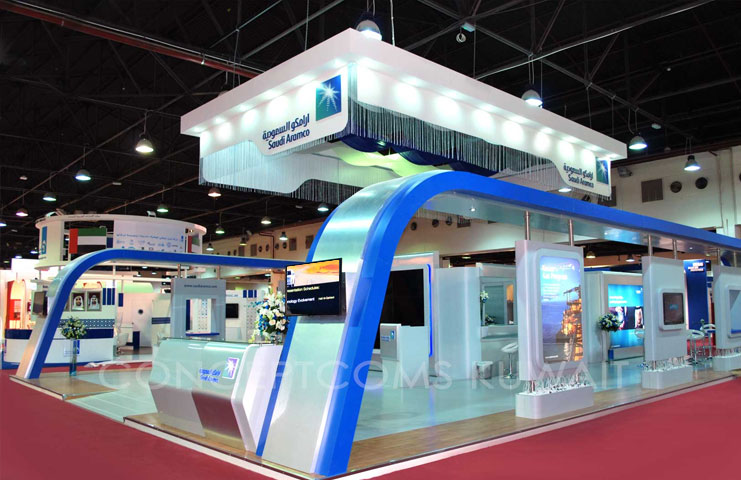 Exhibition Stand Production : Kuwait express interior designer in exhibition